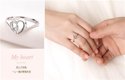 订婚戒指带那个手指上
