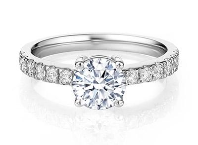 定制一生只送一人的戒指