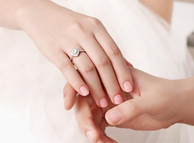 DR真爱戒指,一生只能买一次的求婚戒指