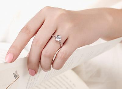 什么店买戒指一生只能买一个