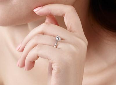 美国女子戒指带6号中国带多少