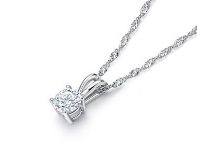 单颗钻石项链价格