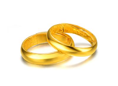 黄金情侣戒指多少钱