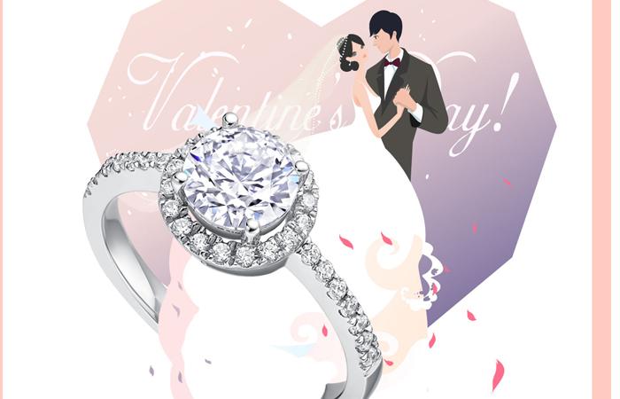 Darry Ring求婚钻戒 用一生验证真爱承诺